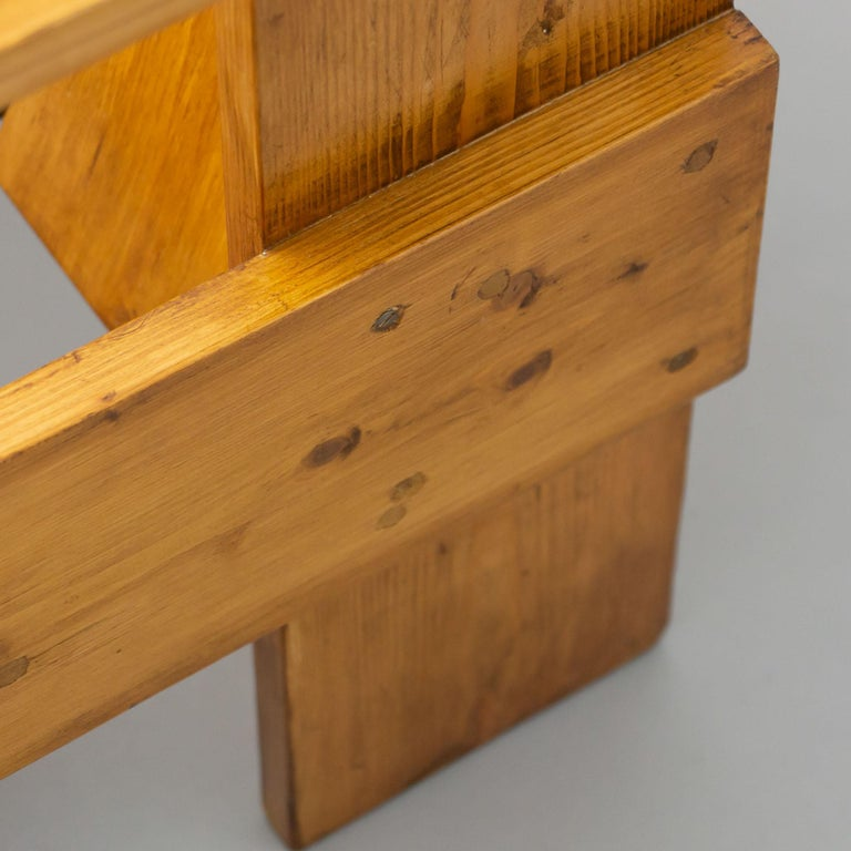 Gerrit Rietveld Mid-Century Modern Wood Crate Chair, circa 1950 For Sale 10