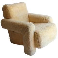 "Gerrit Rietveld ""Utrecht"" Style Chair"