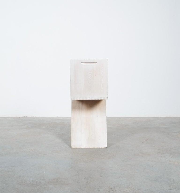 Wood Gerrit Rietveld Zig Zag Chair Cassina, Circa 1970