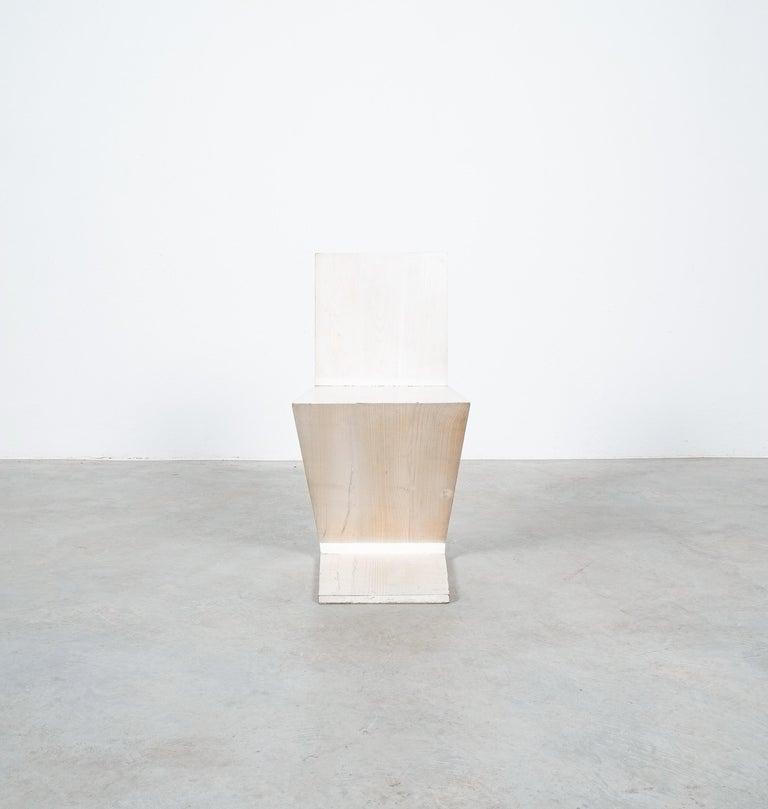 Gerrit Rietveld Zig Zag Chair Cassina, Circa 1970 1
