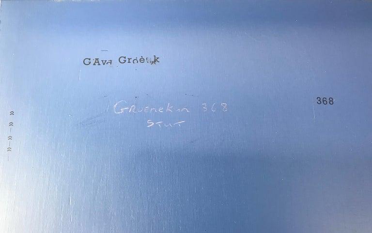 Mid-20th Century Gerrit Thomas Rietveld Red Blue Chair Gerard van de Groenekan For Sale
