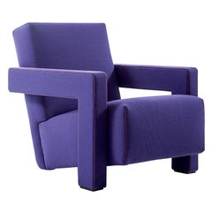 Gerrit Thomas Rietveld Utrech Armchair by Cassina
