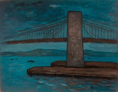 """Moonlight on the Brooklyn Bridge"""