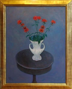 """Still life with Bee Balm"""