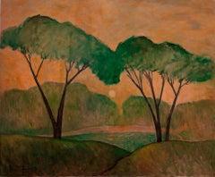 """""""Summer Landscape (Rivrside Drive)"""""""