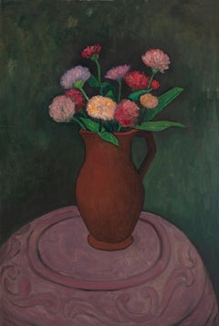 """""""The Pot Stove, the Flowers and the Pitcher"""""""