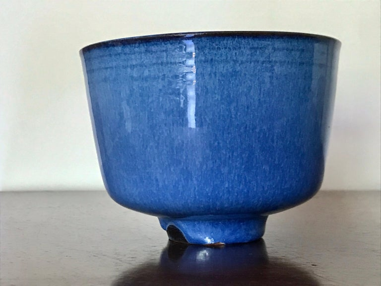 Gertrud and Otto Natzler Studio Pottery In Excellent Condition For Sale In Los Angeles, CA