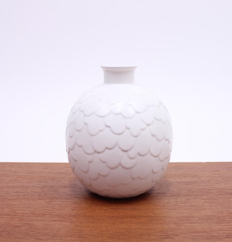 Gertrud Lönegren, Rare Set of 2 Capri Vases for Rörstrand, 1950s 3