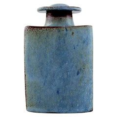 Gertrud Vasegaard '1913-2007', Own Workshop, Glazed Ceramic Lidded Jar