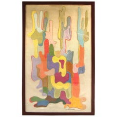 Gertrude Agranat Modernist Textile Art
