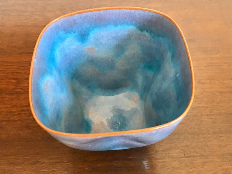 Clay Gertrud and Otto Natzler Studio Pottery Pinch Pot For Sale