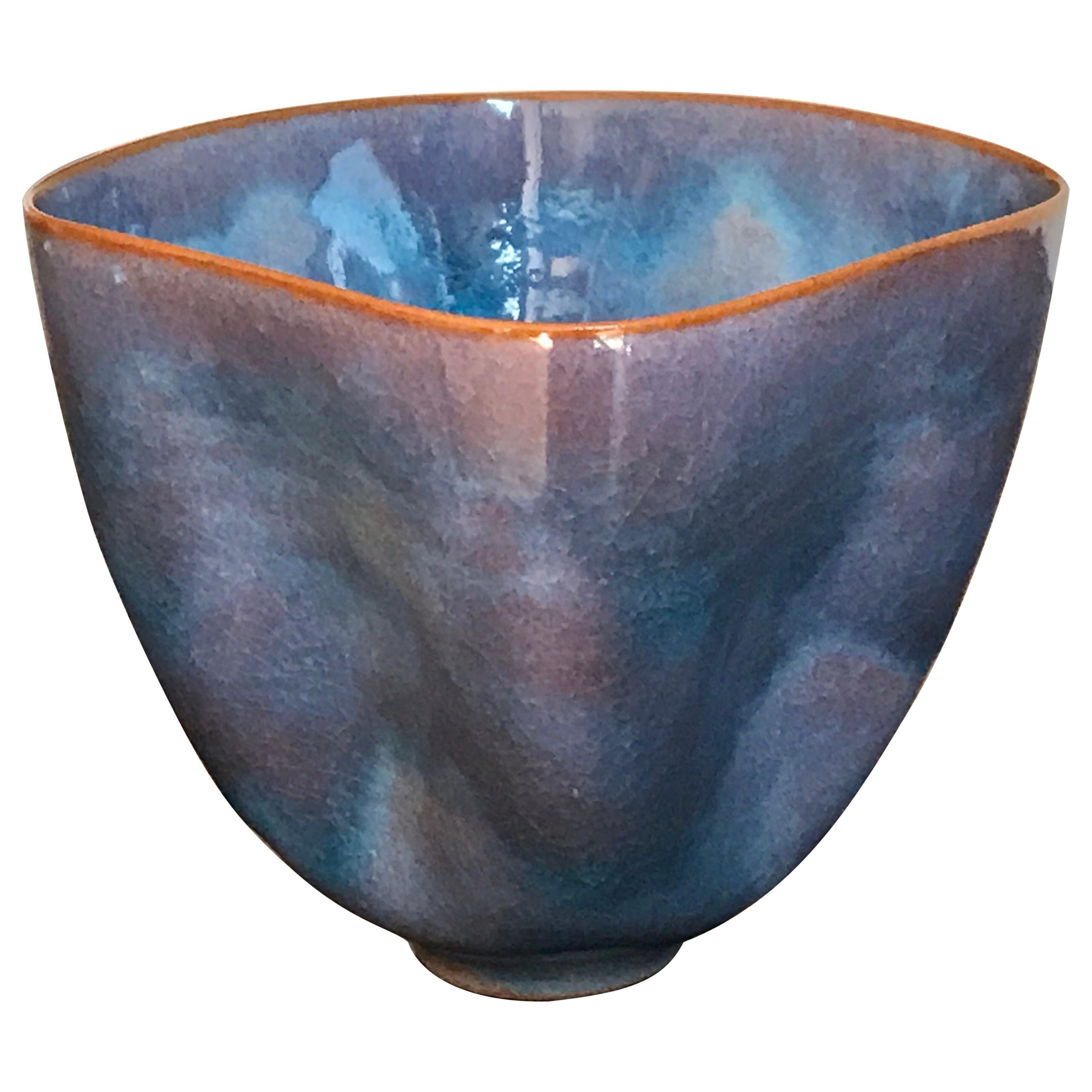 Gertrud and Otto Natzler Studio Pottery Pinch Pot