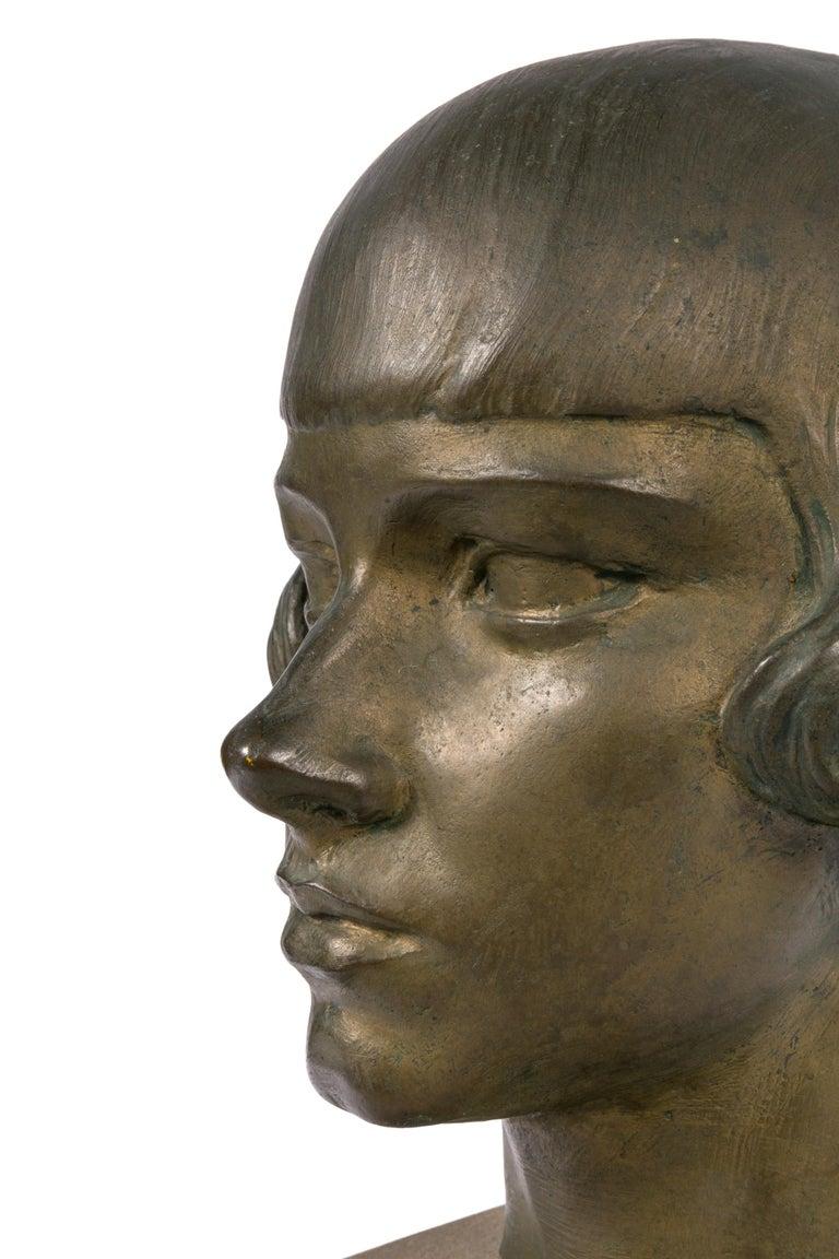 Early 20th Century Gertrude Vanderbilt Whitney Bronze Sculpture