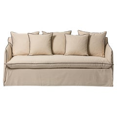 Gervasoni Ghost 15 Sofa Bed in Rene Upholstery by Paola Navone