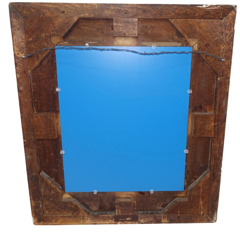 Gesso and Carved Gilt Framed Mirror, English, 19th Century For Sale 7