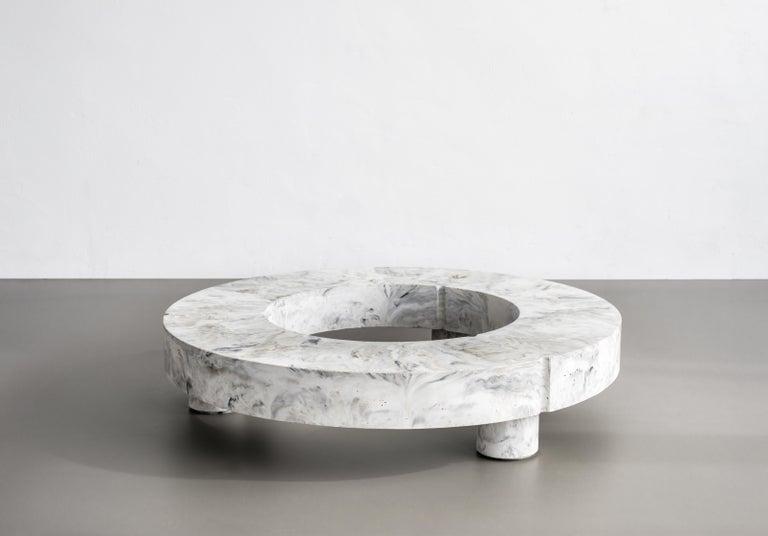 Gestalt Low Table, Signed by Frederik Bogaerts and Jochen Sablon For Sale 3