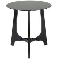 Gesto Brazilian Contemporary Wood Big Side Table by Lattoog