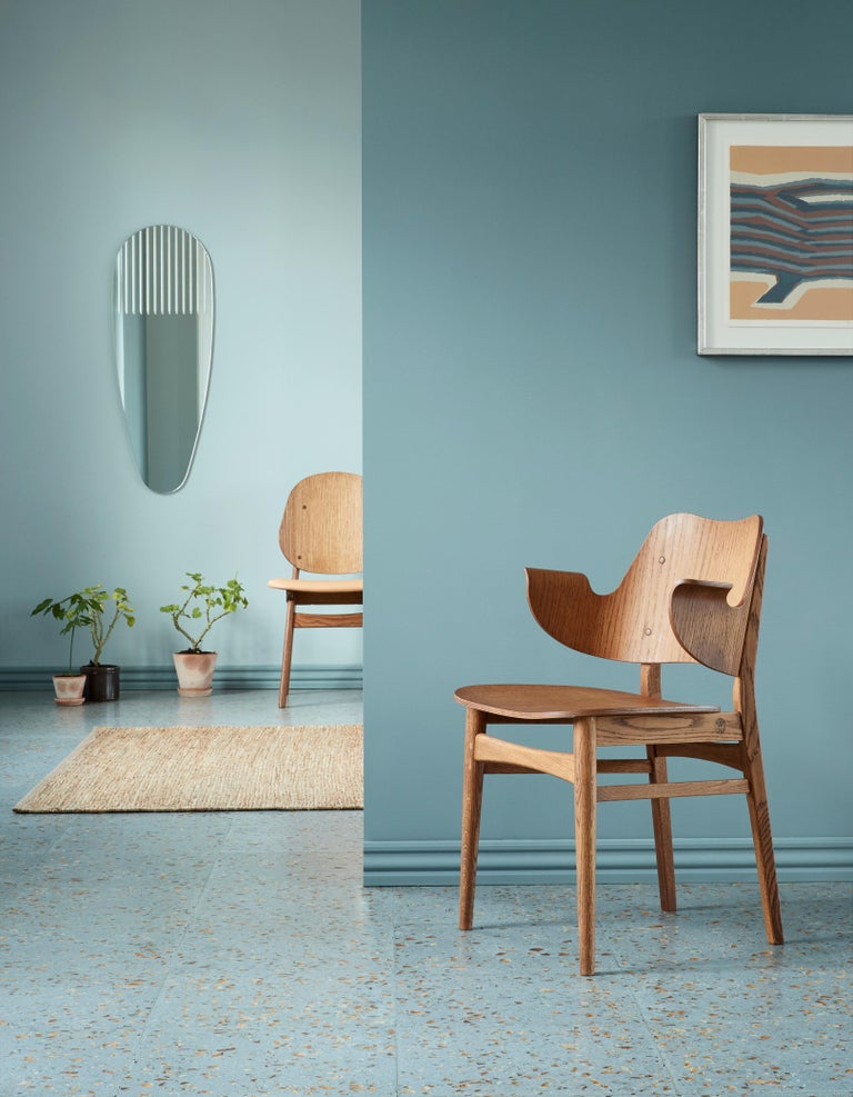 Gesture Chair in Pure Wood, by Hans Olsen from Warm Nordic For Sale 5