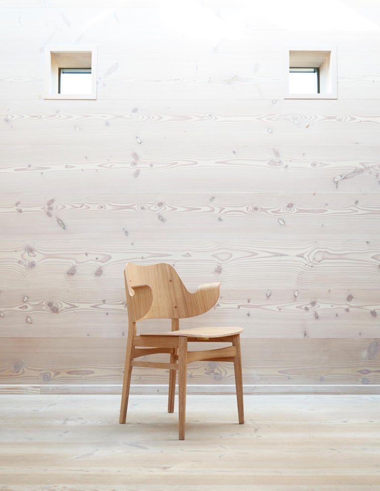 Gesture Chair in Pure Wood, by Hans Olsen from Warm Nordic For Sale 9