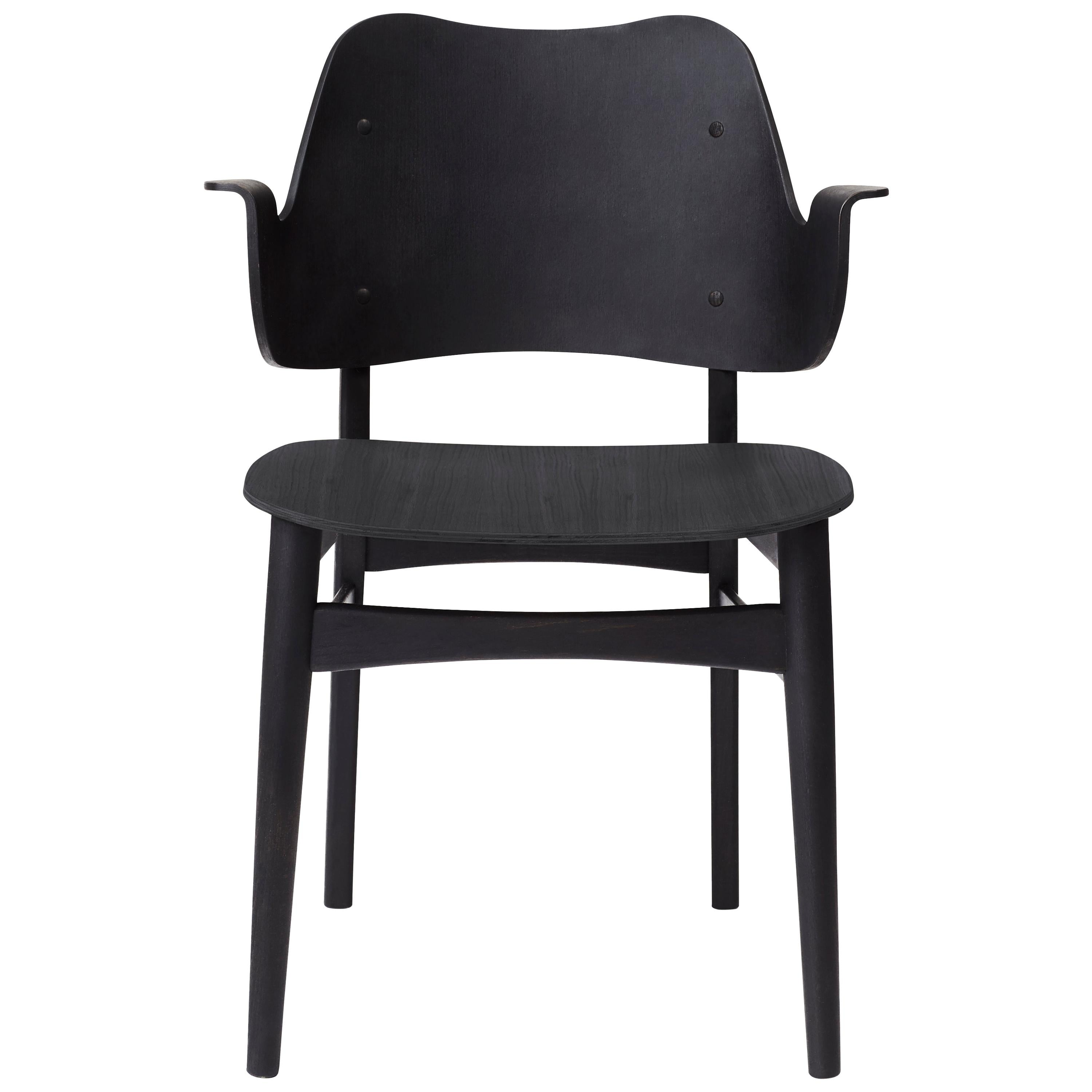 Gesture Chair in Pure Wood, by Hans Olsen from Warm Nordic