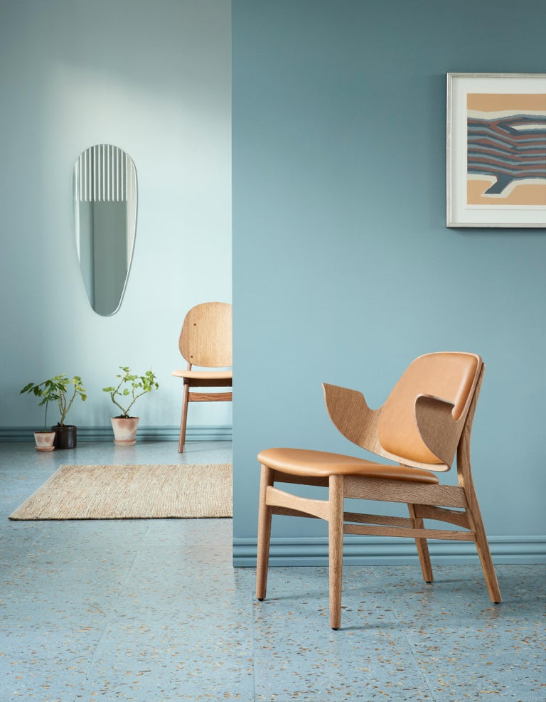 Gesture Lounge Chair in Pure Wood, by Hans Olsen from Warm Nordic In New Condition For Sale In Viby J, DK