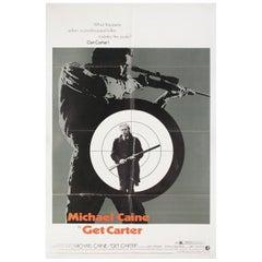 Get Carter 1971 U.S. One Sheet Film Poster