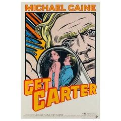 Get Carter Original US Film Movie Poster, John Van Hamersveld, 1968