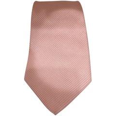 GF Pink silk tie