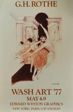 Wash Art '77, May 4-9, Edward Weston Graphics- New York, Paris, Los Angeles