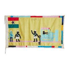 Ghanese Fante Asafo Flag, 1970s