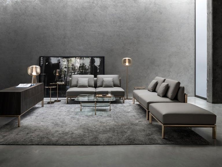 Ghidini 1961 Frame Sofa in Cuoio Leather by Stefano Giovannoni In New Condition For Sale In Villa Carcina, IT
