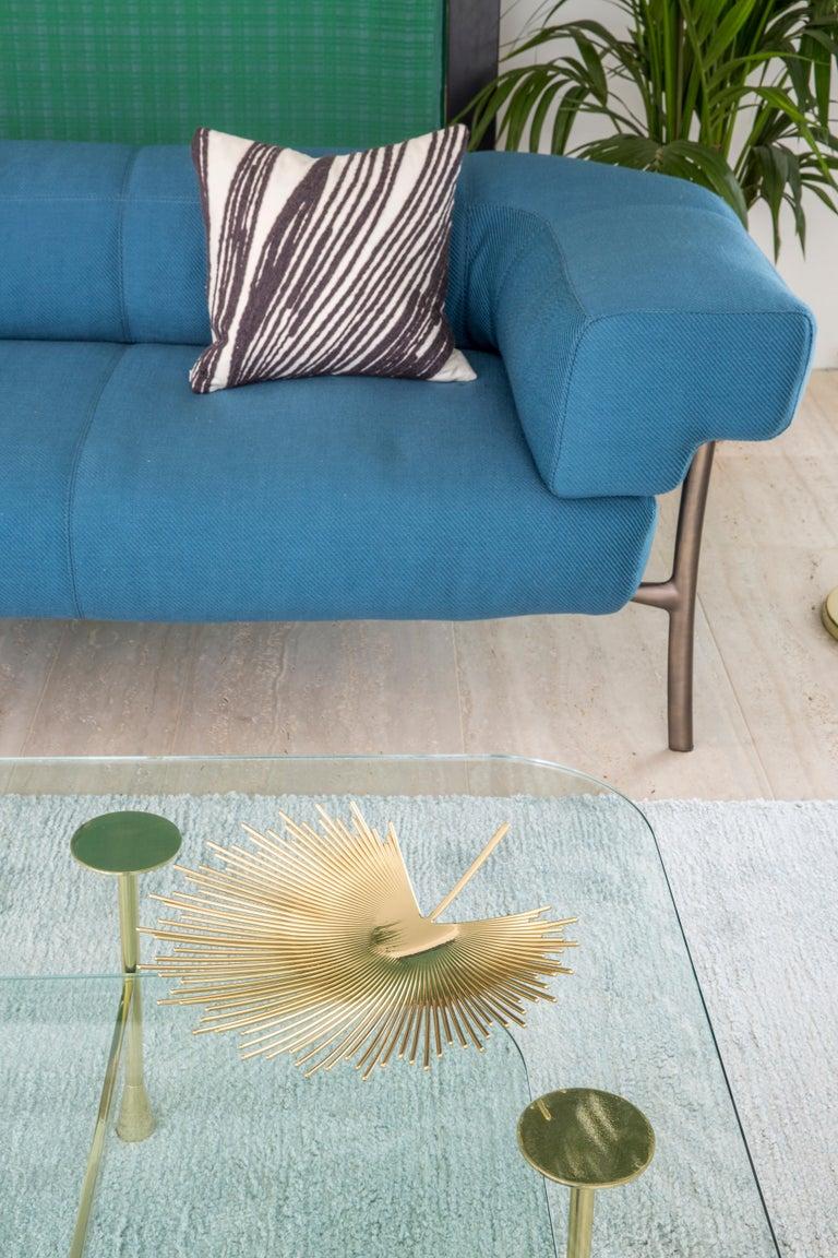 Ghidini 1961 Katana 2-Seat Sofa in Fabric by Paolo Rizzatto In New Condition For Sale In Villa Carcina, IT