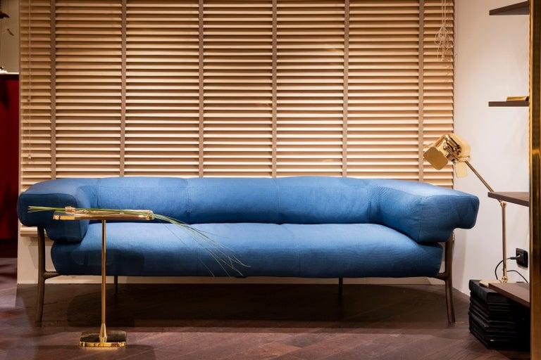 Ghidini 1961 Katana 2-Seat Sofa in Fabric by Paolo Rizzatto For Sale 1
