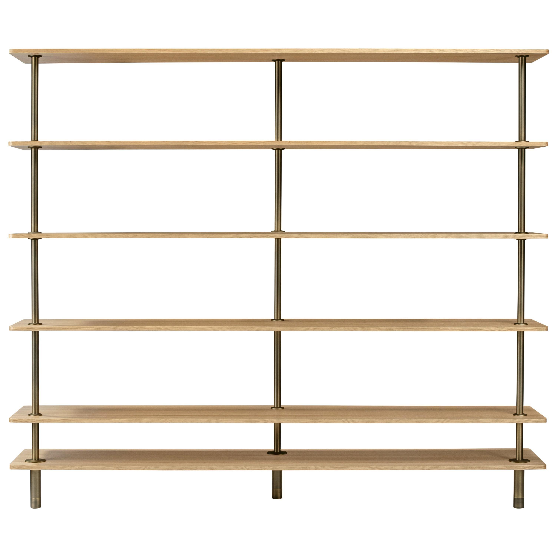 Ghidini 1961 Legs Bookshelf in Wood by Paolo Rizzatto