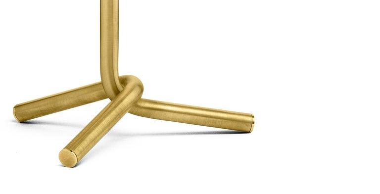 Modern Ghidini 1961 Mio Table Lamp in Satin Brass by Aldo Cibic For Sale