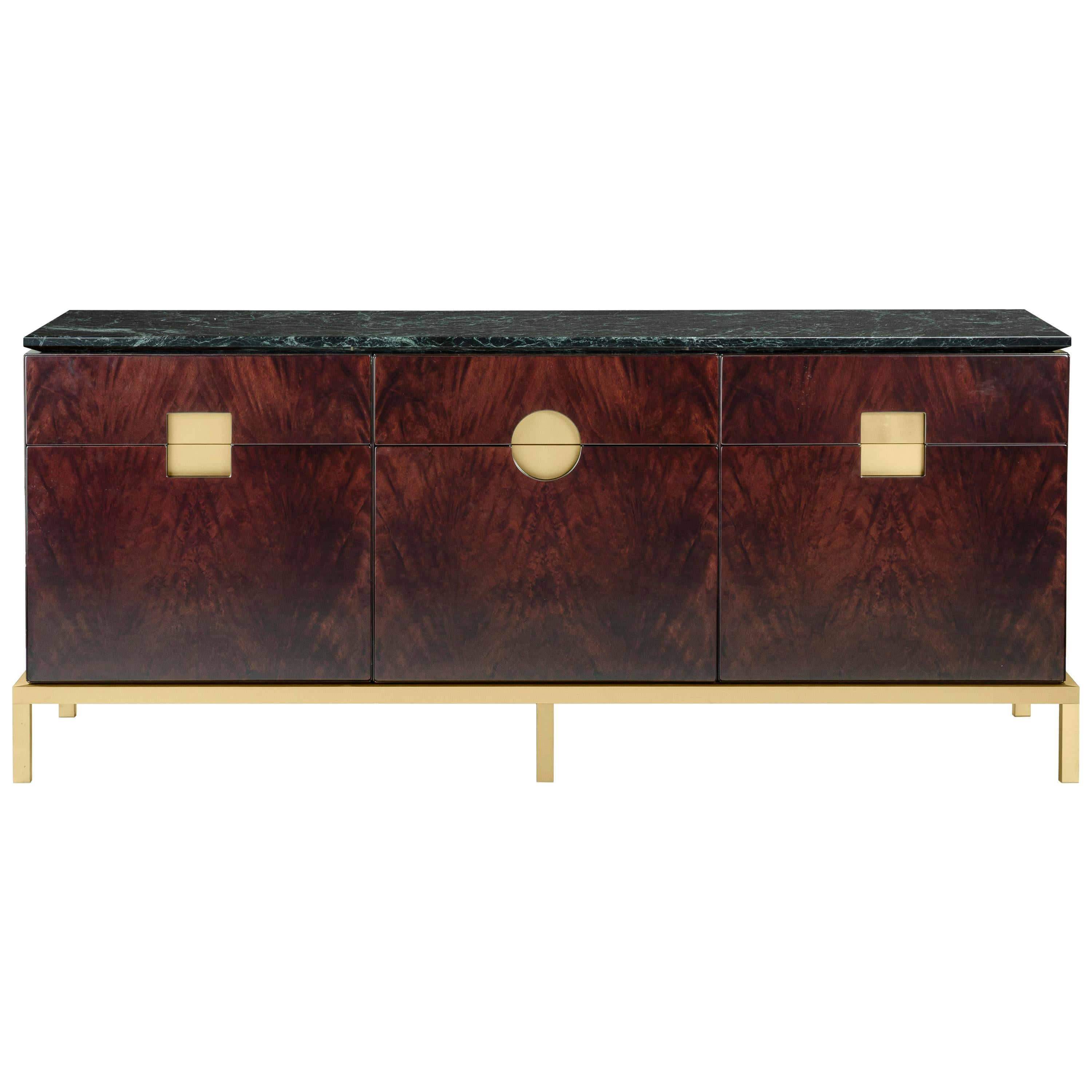 Ghidini 1961 Zuan Dining Cabinet in Wood by Paolo Rizzatto
