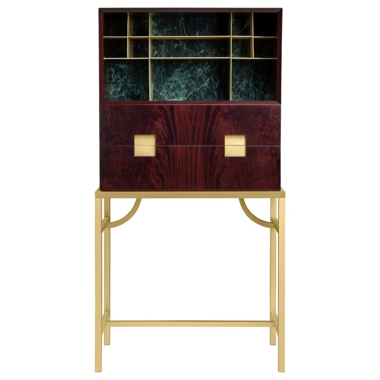 Ghidini 1961 Zuan Large Cabinet in Wood by Paolo Rizzatto For Sale
