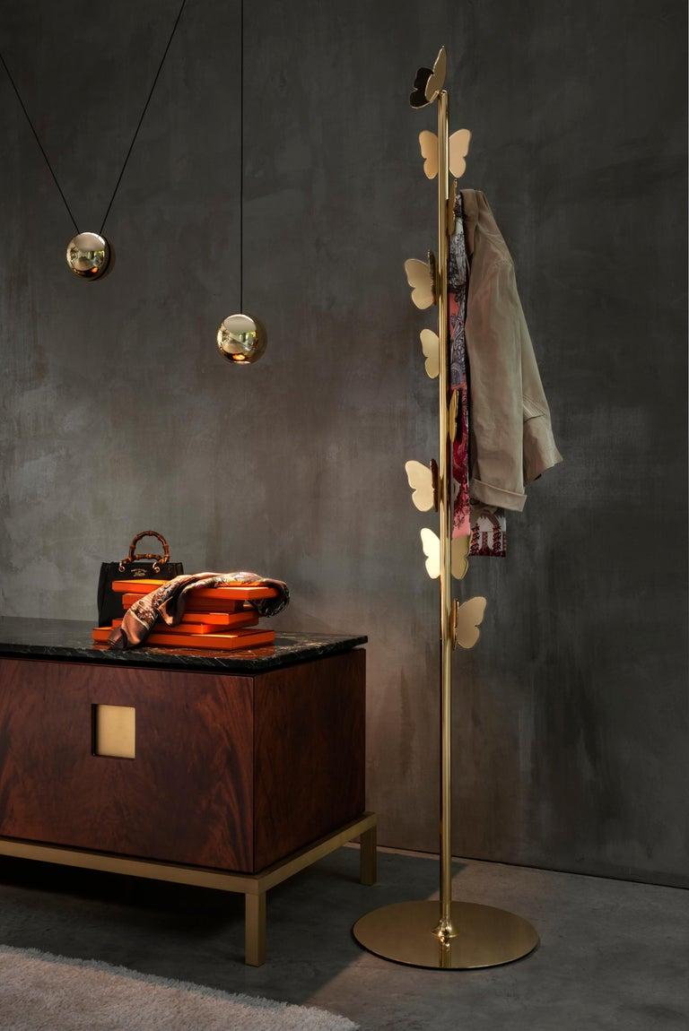Ghidini 1961 Zuan Living Cabinet in Wood by Paolo Rizzatto In New Condition For Sale In Villa Carcina, IT