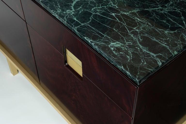 Contemporary Ghidini 1961 Zuan Living Cabinet in Wood by Paolo Rizzatto For Sale