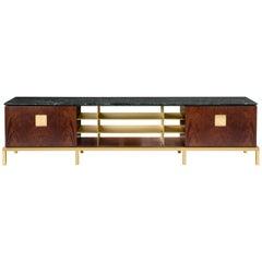 Ghidini 1961 Zuan Living Cabinet in Wood by Paolo Rizzatto