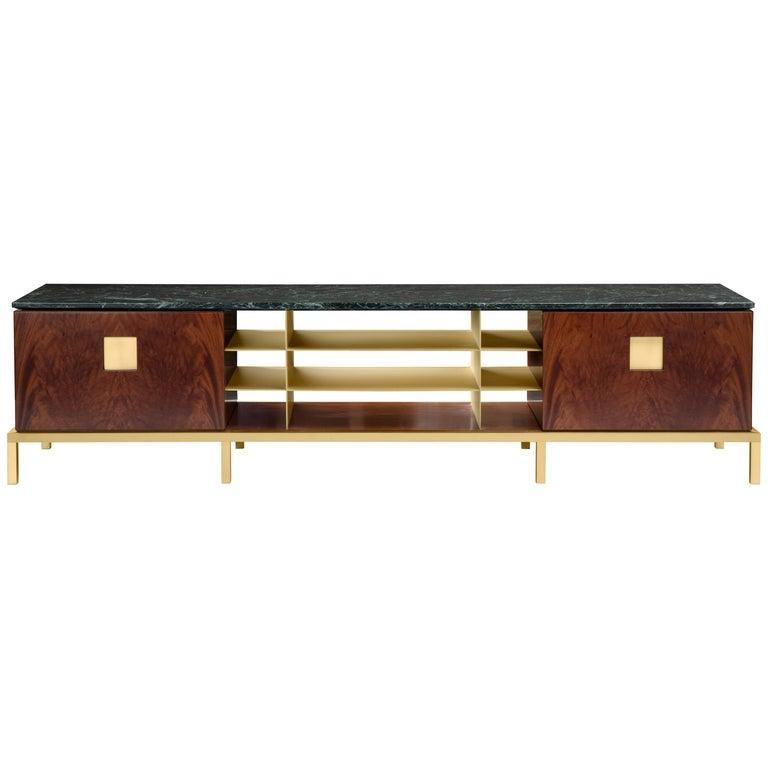 Ghidini 1961 Zuan Living Cabinet in Wood by Paolo Rizzatto For Sale