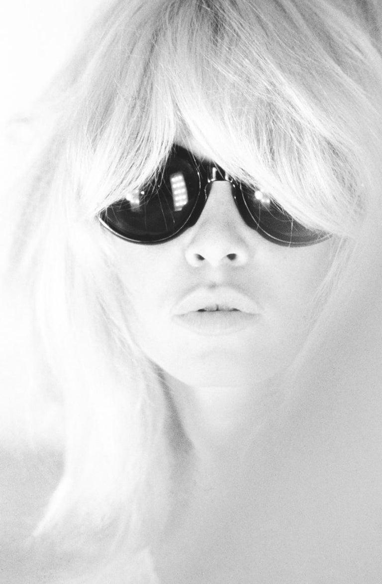 Ghislain Dussart Black and White Photograph - 'Atomic Bardot ' Brigitte Bardot Limited Edition Silver gelatin print