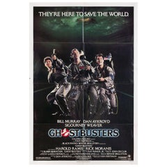 Ghostbusters 1984 U.S. One Sheet Film Poster