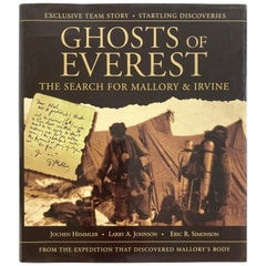 Ghosts of Everest The Search for Mallory & Irvine Hardcover Book