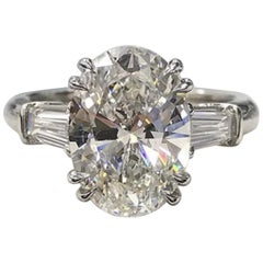 GIA 1.50 Carat Diamond Engagement Ring