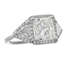 Diamond Micro Pave 18K White Gold Ring