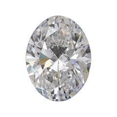 GIA 5.25 Carat Oval Diamond
