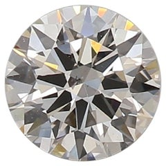 GIA Certified 0.53 Carat Round Cut J SI1 Loose Diamond
