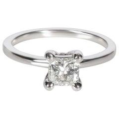 GIA Certified 0.63 Carat Princess Cut D VS1 Loose Diamond
