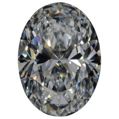 GIA Certified 10 Carat Oval Diamond VVS1 Clarity D Color Triple Excellent Cut
